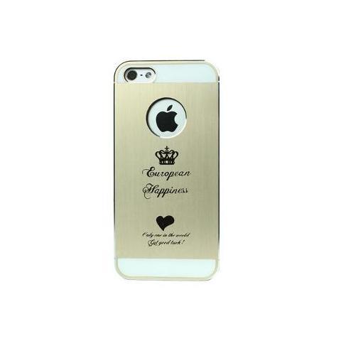 Чехол для Apple iPhone 5/5S/SE iBacks Cameo Crown - Gold