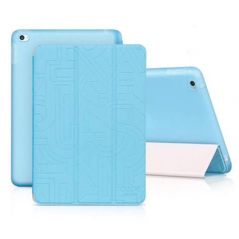Чехол Hoco Cube series для iPad mini 4 голубой