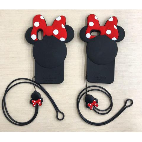 Чехол iPhone X/XS Disney Mini Black