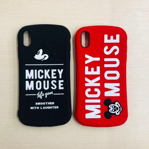 Чехол Disney Mickey Mouse для iPhone XS Max Black