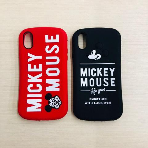 Чехол Disney Mickey Mouse для iPhone X/XS Black
