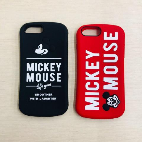 Чехол Disney Mickey Mouse для iPhone 7 Plus/8 Plus Black