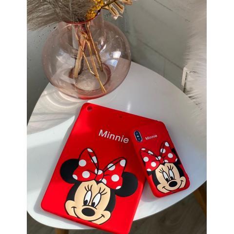 "Накладка силикон Disney для iPad 10.2"" (2019/2020) Minnie Mouse Red"