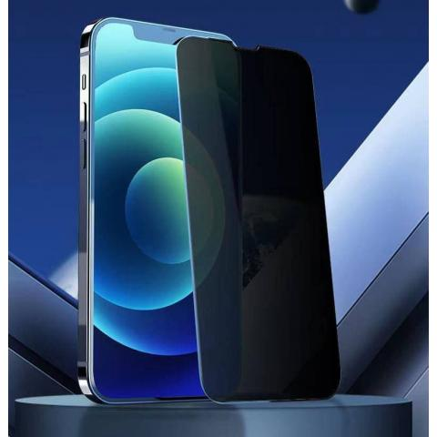 Защитное стекло анти-шпион AMC Tempered Glass Full for iPhone 13