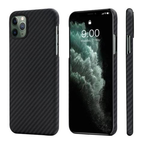 Чехол Pitaka Air Case Black/Grey для iPhone 11 (KI1101RA)