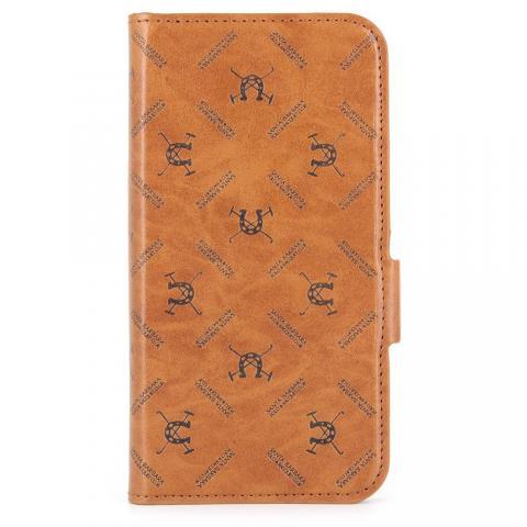 Чехол Polo Hector коричневый для iPhone X/XS