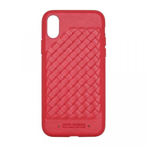 Чехол-накладка для iPhone XS Max Polo Ravel - Red