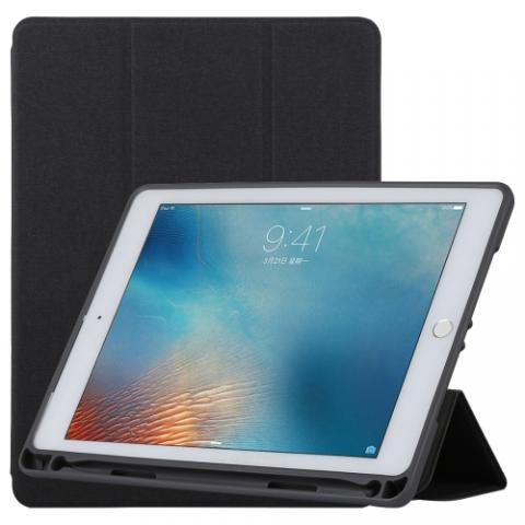 Чехол TOTU Curtain series case с держателем для стилуса для iPad Air Black