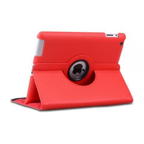 Чехол 360° Rotating Stand/Case для iPad 4/ iPad 3/ iPad 2 - красный