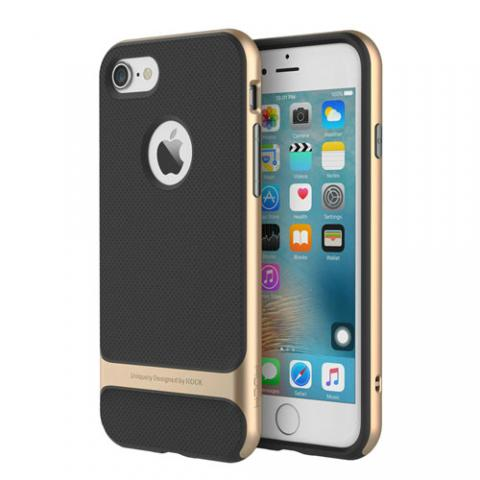 Чехол Rock Royce Series for iPhone 7 - Gold