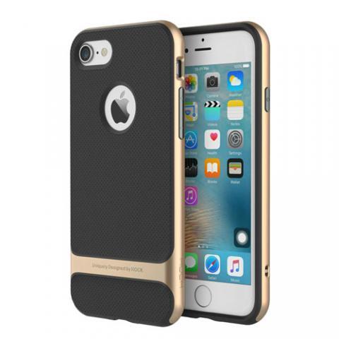 Чехол Rock Royce Series for iPhone 7 Plus - Gold