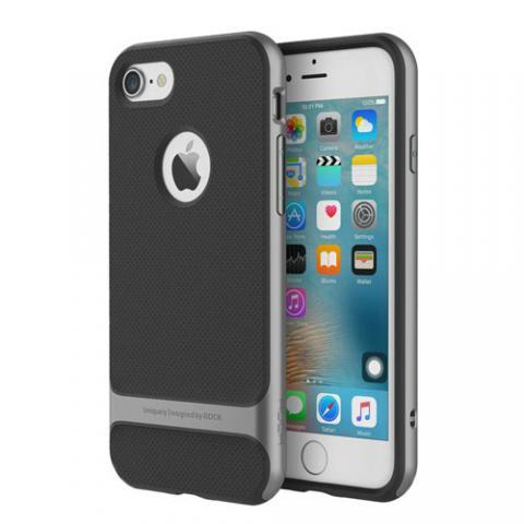Чехол Rock Royce Series for iPhone 7 Plus - Grey