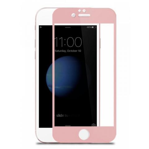 Защитное стекло 3D Effect для iPhone 6 Plus/6S Plus - Rose Gold