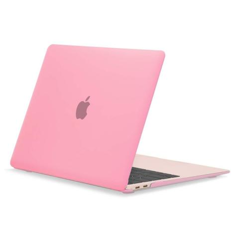 "Чехол накладка Matte Hard Shell Case for MacBook Air 13"" Pink"