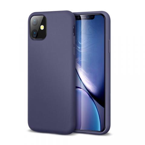 Ультратонкий чехол X-LEVEL для iPhone 11 - Midnight Blue