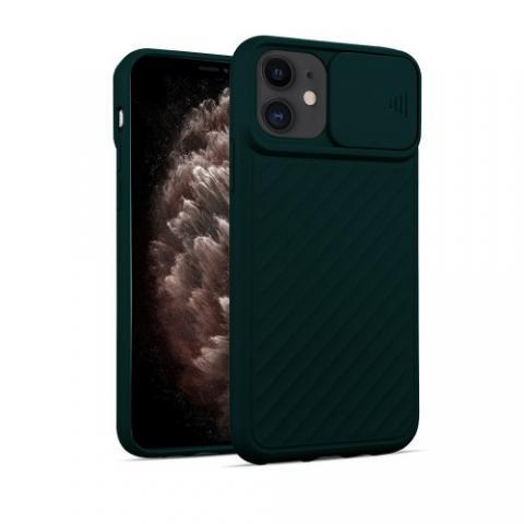 Чехол Slide Camera Protection для iPhone 11 - Forest Green