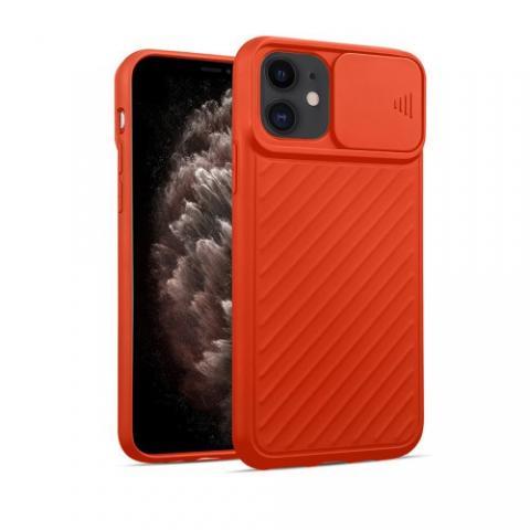 Чехол Slide Camera Protection для iPhone 11 - Orange