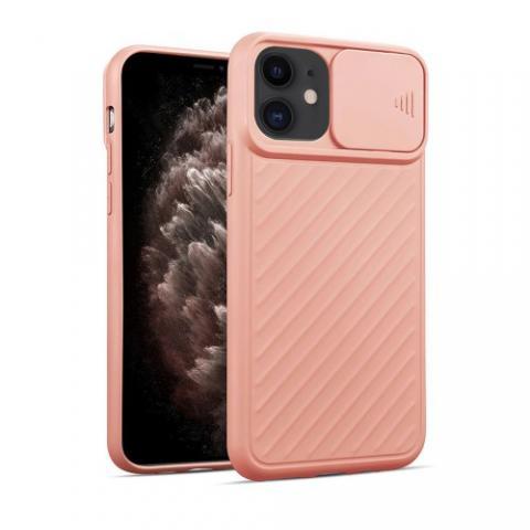 Чехол Slide Camera Protection для iPhone 11 - Pink Sand