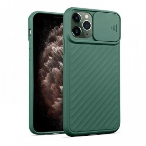 Чехол Slide Camera Protection для iPhone 11 Pro - Forest Green