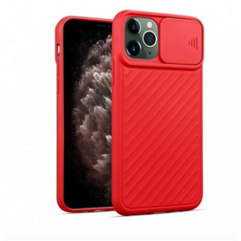 Чехол Slide Camera Protection для iPhone 11 Pro - Red