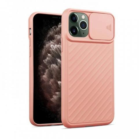 Чехол Slide Camera Protection для iPhone 11 Pro - Pink Sand