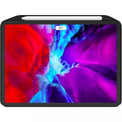 """Чехол с держателем для стилуса SwitchEasy CoverBuddy черный для iPad Pro 12.9"""" (2020)"""