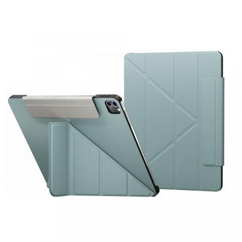 "Чехол Switcheasy Origami for iPad Pro 12.9"" M1 (2021) Exquisite Blue (GS-109-176-223-184)"