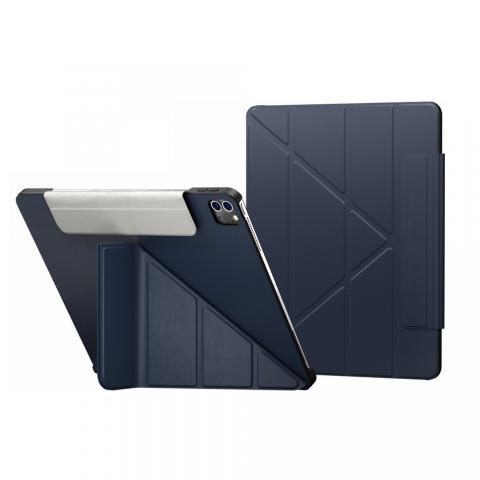 "Чехол Switcheasy Origami for iPad Pro 12.9"" M1 (2021) Midnight Blue (GS-109-176-223-63)"