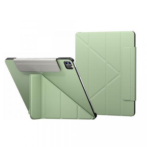 "Чехол Switcheasy Origami for iPad Pro 12.9"" M1 (2021) Spring Green (GS-109-176-223-183)"