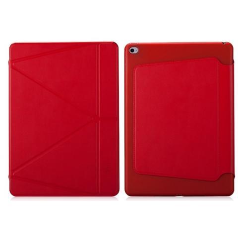Чехол Momax The Core Smart Case для iPad Mini 4 - красный