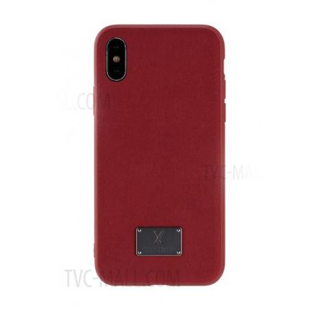 Чехол WK Velvet Case for iPhone X Red (WPC-081)