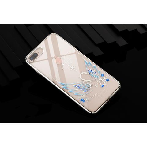 Чехол-накладка Kingxbar Swarovski Swan Series для iPhone 8 Plus/7 Plus Silver