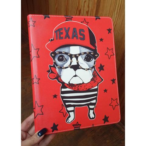 Чехол для iPad 4/ iPad 3/ iPad 2 - Texas Dog