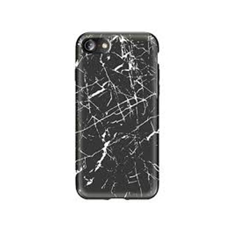 Чехол-накладка ROCK Origin Series (Grained) Black Marble для iPhone 7/8