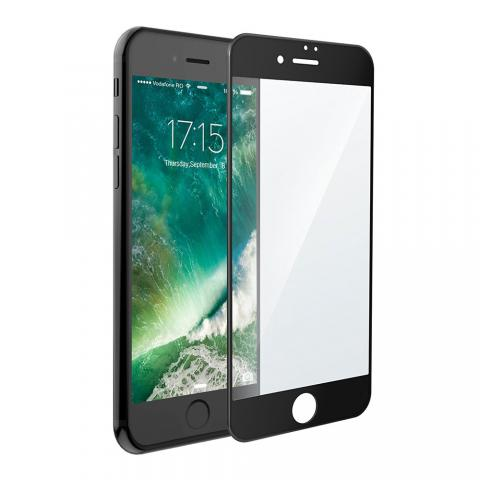 Защитное стекло 3D Curved Tempered Glass Black для iPhone 7