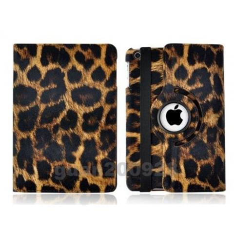 Чехол 360° Rotating Stand/Case для iPad 4/ iPad 3/ iPad 2 - леопард
