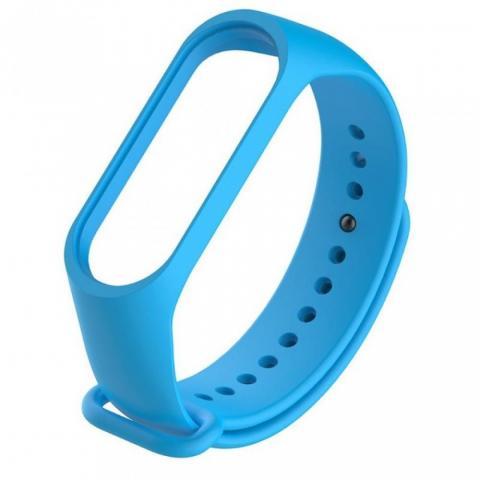 Силиконовый ремешок для фитнес-браслета Xiaomi Mi Band 2/3 Blue