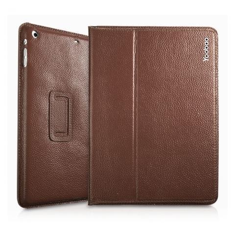 Yoobao Genuine Executive Leather Case для iPad Air - кофейный