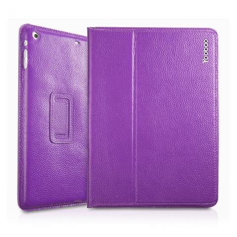 Yoobao Genuine Executive Leather Case для iPad Air - фиолетовый