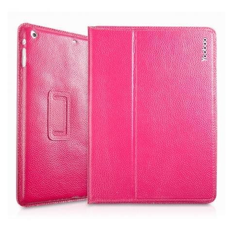 oobao Genuine Executive Leather Case для iPad Air - розовый