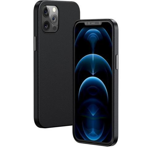 Чехол Baseus Original Magnetic Leather Case для iPhone 12 Pro Max - Black