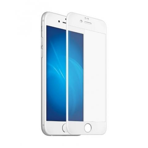Защитное матовое стекло 3D для iPhone iPhone 7/8 White