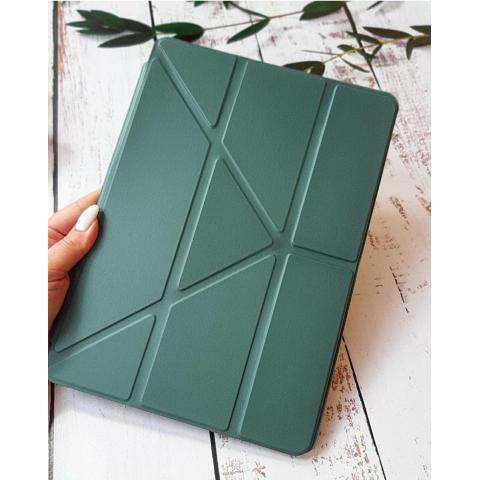 """Смарт-чехол Origami с держателем для стилуса для iPad 10.2"""" (2019/2020) Pine Green"""